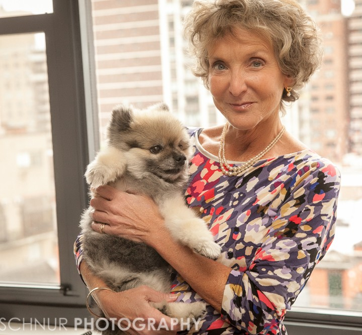 Maggie & her adorable Doggie!