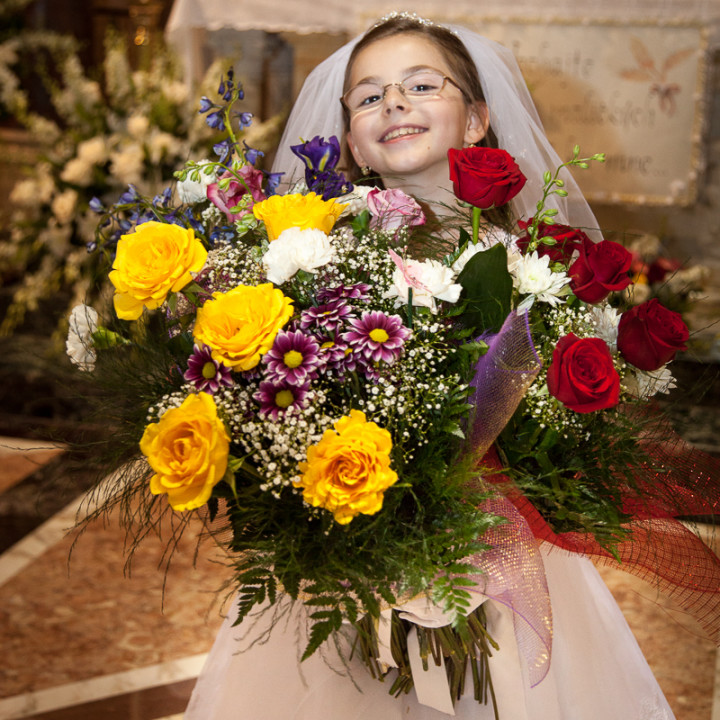 Emma's First Holy Communion